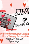 steam at nesmith library Pick up: Monday February 8 (curbside) Optional Zoom: Thursday February 11 4:00 PM Registration Required Ages 5 & Up